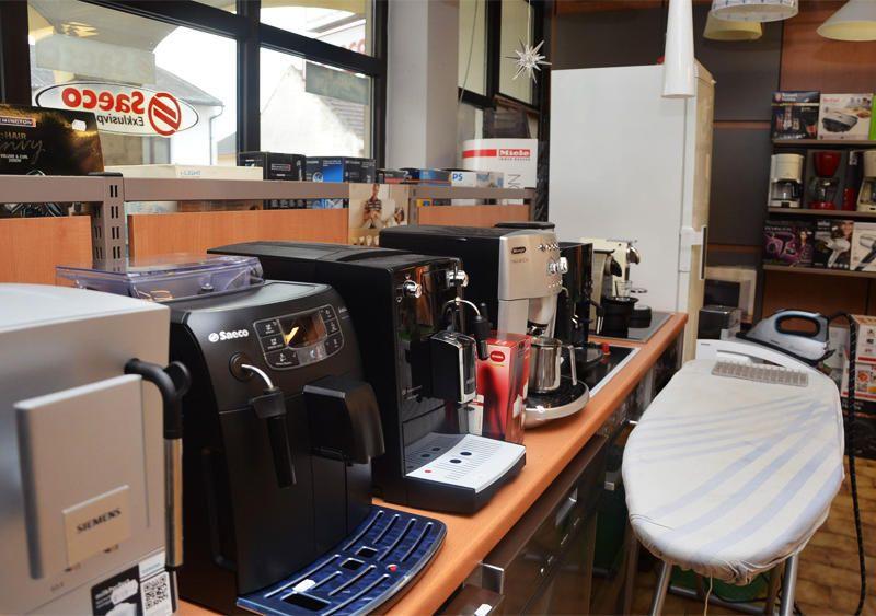 Kaffeemaschinen, Bügeleisen und mehr