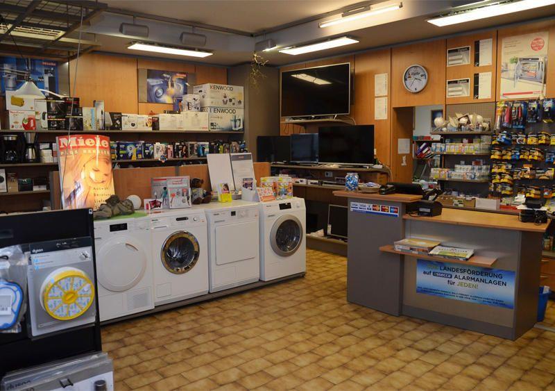 Waschmaschinen, Fernseher und mehr